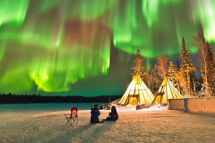 Выходные в Арктике